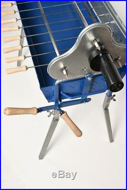Greek Cypriot Charcoal Barbecue BBQ Grill Foukou with Lifting Lever