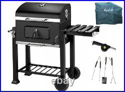 Grill Charcoal BBQ Barbecue Smoker Garden Portable MU7426849047625UK 115x66x108