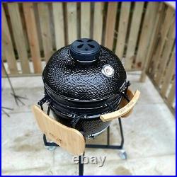 Grill Heads Kammander 18 Kamado Ceramic Egg Setup BBQ, Pizza Oven & Smoker