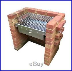 HEAVY DUTY DIY Brick Charcoal BBQ Kit & Oven/Cupboard