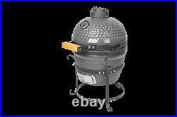 Higoshi 13 GREY Ceramic Kamado Egg Cooking BBQ Outdoor Grill Next day delivery
