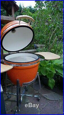 Igloo Kamado XL BBQ Grill Smoker Ceramic Egg Charcoal Cooking Oven Outdoor