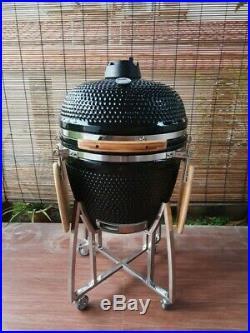 Igloo Kamado XL BBQ Grill Smoker Ceramic Egg Charcoal Cooking Oven Outdoor o