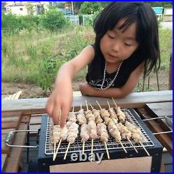 Japan Yakitori BBQ Diatomite Charcoal Grill Barbecue Hibachi Konro 31 x 23cm NEW