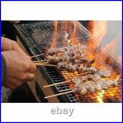 Japanese Yakitori BBQ Diatomite Charcoal Grill 77 x 23cm Barbecue Hibachi Konro