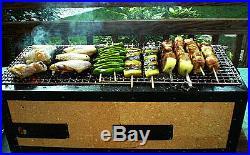 Japanese Yakitori BBQ Diatomite Charcoal Grill Barbecue Hibachi Konro 54 x 23cm