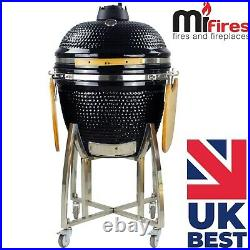 Kamado 21 Inch Extra Large Ceramic BBQ Grill, BBQ Egg, BBQ Smoker (free cover)