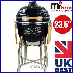 Kamado 23.5 Extra Large Ceramic BBQ Grill, BBQ Egg, BBQ Smoker (free cover)