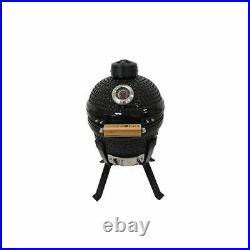 Kamado Bono Picnic13 BBQ Grill Smoker Ceramic Egg Charcoal Cooking Oven Outdoor