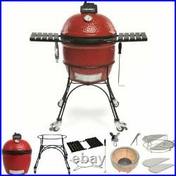 Kamado Joe Classic Ceramic BBQ Grill Smoker