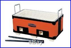 Kinka BBQ Diatomite Charcoal Grill Stove Konro yakitori 375×215mm B-4 B4 F/S