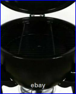 La Hacienda Kamado Steel Egg BBQ Barbecue Grill Oven Outdoor Cooking Brand New