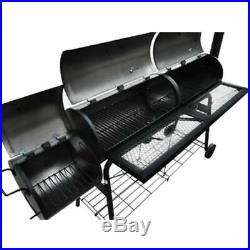 Large Charcoal Barrel BBQ Grill Big Garden Barbecue Patio Smoker BBQ Durable NEW