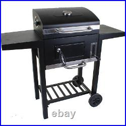 Large Rectangular Bbq Barbecue Charcoal Grill Outdoor Garden Patio Cooking Party
