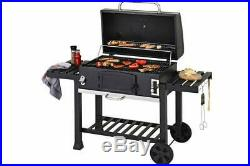 Large barbecue Outdoor XXL Smoker Charcoal BBQ Portable Grill Garden BBQ