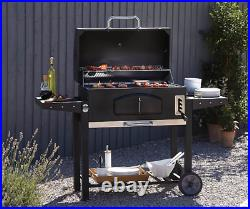NEW Uniflame Classic American Style 82cm Charcoal BBQ Grill Barbecue In Stock