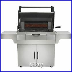 Napoleon Charcoal Professional Grill BBQ Rotteserie Burner FREE Cover & Griddler