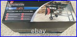 New LANDMANN Grill Chef dual Fuel Gas and Charcoal BBQ-with Bottle Opener