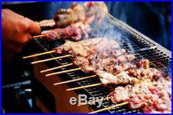 New Yakitori BBQ Diatomite Charcoal Grill Barbecue Hibachi 31 x 23cm japan