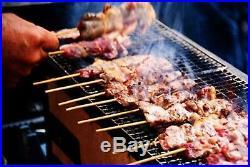 New Yakitori BBQ Diatomite Charcoal Grill Barbecue Hibachi Konro 31 x 23cm F/S