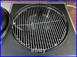 Nexgrill 22 (56 cm) Charcoal Kettle Barbecue BBQ Grill With Cart D