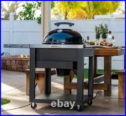 Nexgrill 22 56 cm Charcoal Kettle Barbecue grill with cart large bbq Ex Display