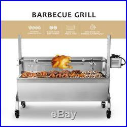 Outdoor Hog Roast Machine BBQ Spit Roaster Rotisserie Grill Roasting Motor