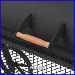 Outdoor XXL Smoker Charcoal BBQ Portable Grill Garden BBQ with Bottom Shelf Larg