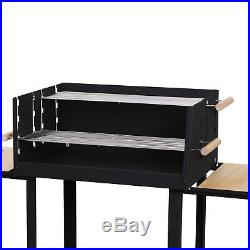Outsunny Charcoal BBQ Grill Portable Barbecue Outdoor Garden Picnic Party