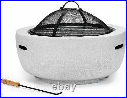 Pit Brazier Garden Fire Table Patio Outdoor BBQ Heater Grill Multipurpose Stove