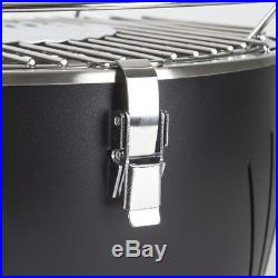 Portable Smokeless Charcoal BBQ Lotus Style Grill with Fan