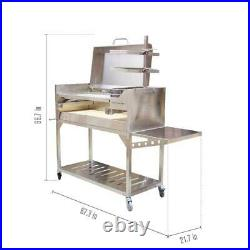 Premium Argentine Gaucho Stainless Steel Grill Tagwood BBQ 01SS