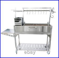 Premium Argentine Gaucho Stainless Steel Grill Tagwood BBQ 03SS