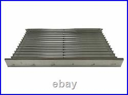 Stainless Steel Premium DIY Brick Charcoal BBQ Grill Barbecue Kit 67cm x 40cm