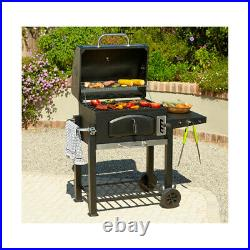(TOP QUALITY) Steel Charcoal Bbq Grill Barbecue Outdoor Garden Portable Patio