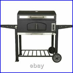 UNIFLAME XXL Charcoal Outdoor Smoker BBQ Portable Garden Barbecue grill patio