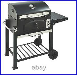 Uniflame Classic 60cm American BBQ Charcoal Grill Outdoor Patio Garden