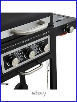 Uniflame DUAL FUEL Gas and Charcoal Combo Barbecue Grill Outdoor Garden BBQ