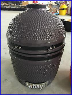 YNNI KAMADO 15.7 inch Limited Edition GREY Oven BBQ Grill Egg Stand TQ0015GY