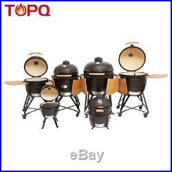 YNNI KAMADO 21.7 GREEN L Chip Feeder Oven BBQ Grill Egg TQ0C21GR