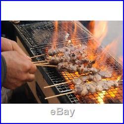Yakitori BBQ Diatomite Charcoal Grill 77 x 23cm Barbecue Hibachi Konro japan