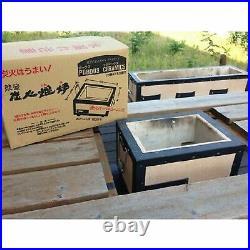 Yakitori BBQ Diatomite Charcoal Grill Barbecue Hibachi Konro 31 x 23cm