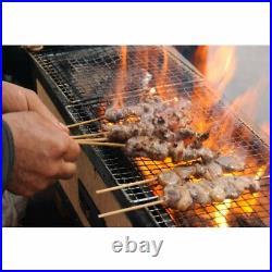 Yakitori BBQ Diatomite Charcoal Grill Barbecue Hibachi Konro 54×23cm Japan
