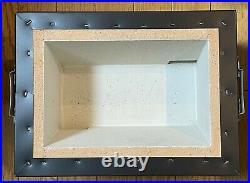 Yakitori Charcoal Grill Barbecue BBQ stove diatomaceous earth 31 x 23cm #B00576