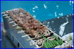 Yakitori Kushiyaki Charcoal Grill, Japanese Cooking Binchotan, Robata Barbecue